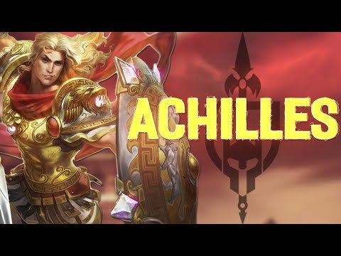 ACHILLES FIRST LOOKS: A WARRIOR OR AN ASSASSIN? - Incon - Smite