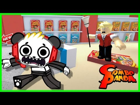 Roblox Escape Supermarket Obby Let's Play with Combo Panda