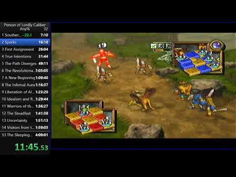 Ogre Battle 64 Any% 4:04:27 Speedrun