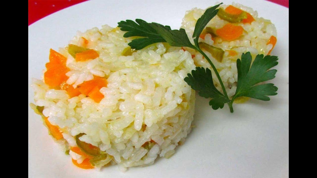Receta de arroz con verduras youtube - Arroz con pescado y verduras ...