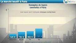 Location de logement à Paris : combien ça coûte ?