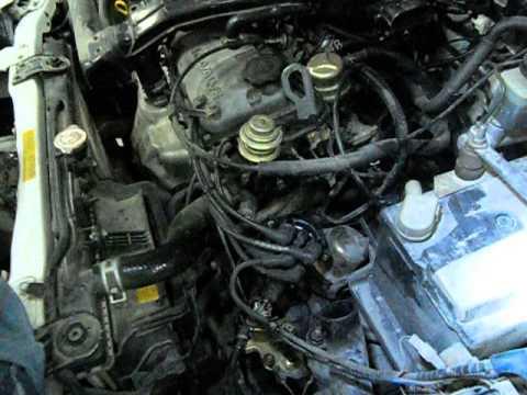 mazda 323 hb (89-94) distiribütör bakımı ve temizliği - youtube