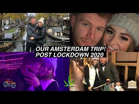 WEEKEND IN AMSTERDAM!! (POST LOCKDOWN 2020, WHAT IS IT LIKE TRAVELLING?!)