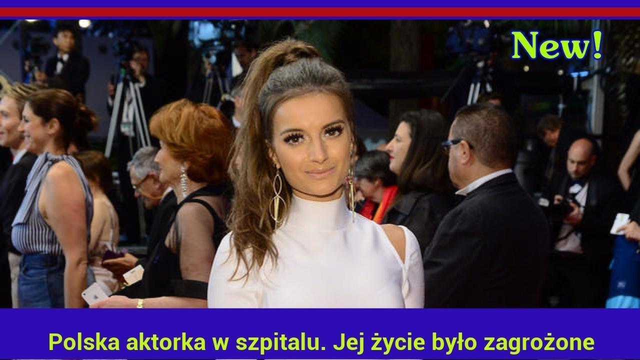 Polska aktorka w szpitalu. Jej życie było zagrożone