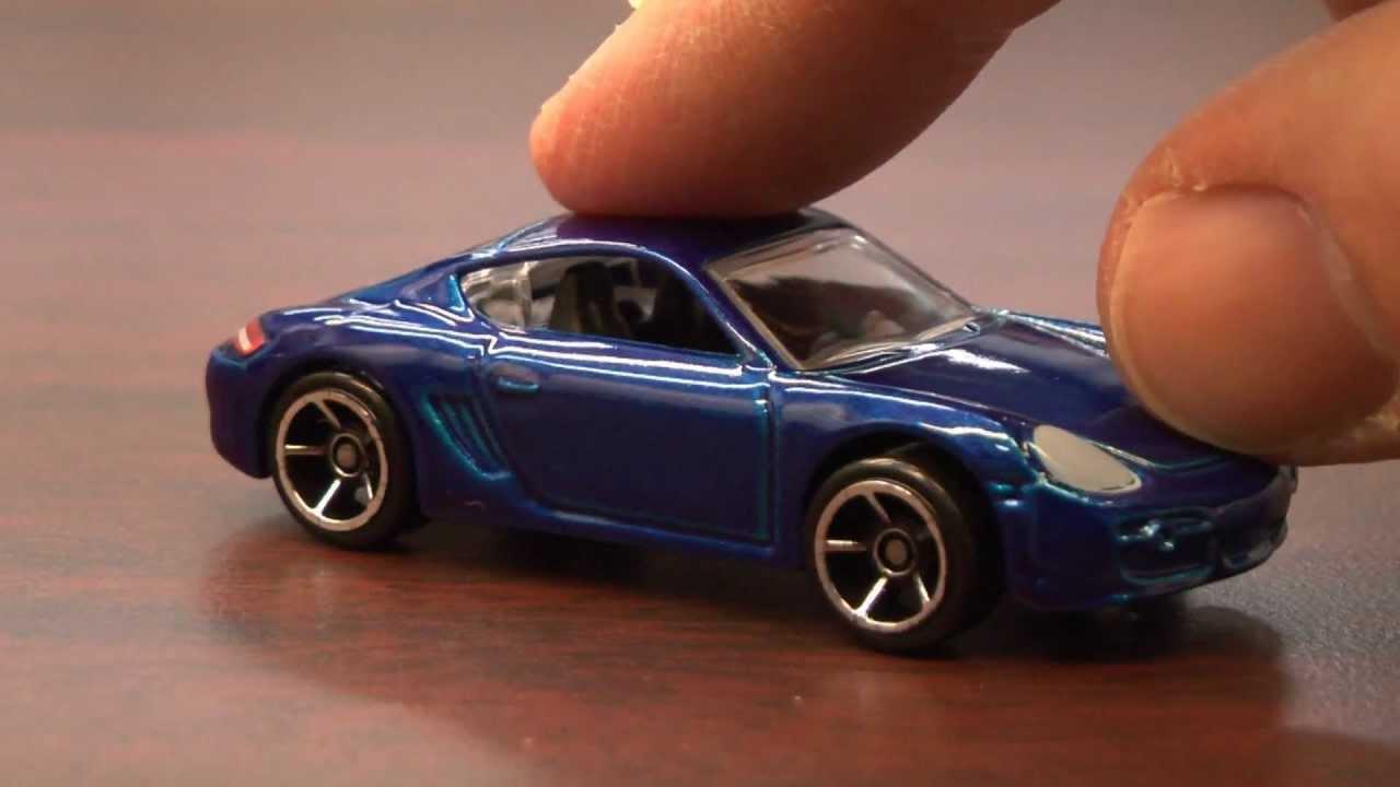 Cgr Garage - Porsche Cayman S Hot Wheels Review
