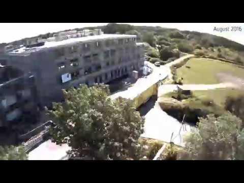 Das neue Eltern-Kind-Zentrum am Campus Lübeck - Zeitraffer Video von Februar 2016 bis Januar 2017