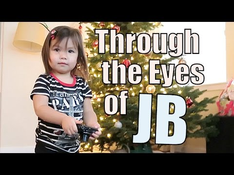 Through the Eyes of a 2 Year Old - December 28, 2014 - itsJudysLife Daily Vlog