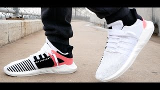 adidas white eqt support 93 17 turbo boost review on feet i fixed my dji phantom 4