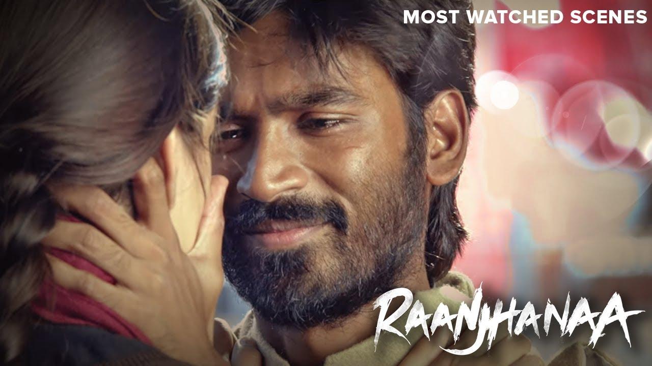 Download Raanjhana   Most Watched Scenes -  Dhanush & Sonam Kapoor - Hindi Superhit Movie