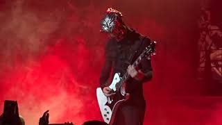 "Ghost.""Cirice"",with a dueling ghouls guitar battle in the beginning. Miami Beach,Florida.11/24/2018."