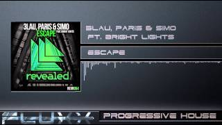 3lau paris simo ft bright lights   escape radio edit