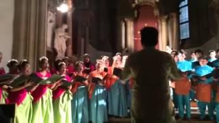ITB Students Choir Won Bratislava Cantat Festival 2014, Slo