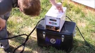 видео Аппарат для сварки ПНД труб. Способы соединения. Таблица моделей ведущих фирм