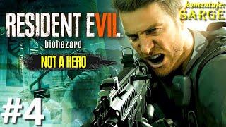 Zagrajmy w Resident Evil 7: Not a Hero DLC PL (100%) odc. 4 - KONIEC DLC NA 100%