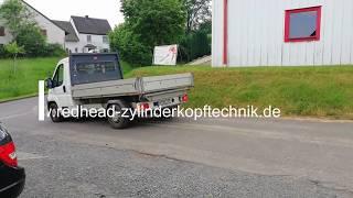 Motorschaden Peugeot Boxer 2,2 Diesel 4HU Ford Motor - Späne im Motor und Riss im Kolben, Redhead