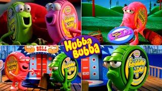 Big Bubbles No Troubles! Funny Hubba Bubba Bubble Gum Commercials!