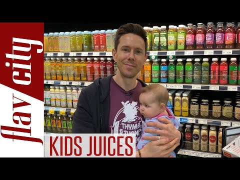 Guidelines for Giving Kids Juice