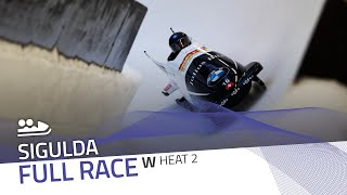 Sigulda | BMW IBSF World Cup 2020/2021 - Women's Bobsleigh Heat 2 | IBSF Official
