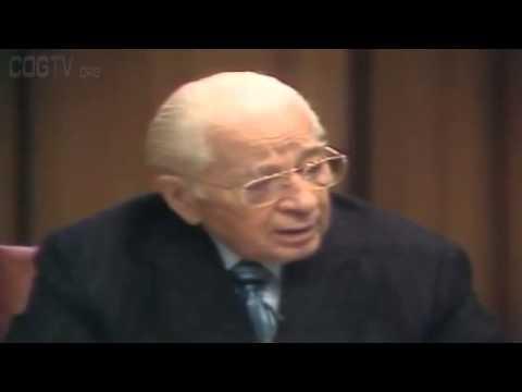 19780527 Satans Rebellion - Herbert W. Armstrong - World Tomorrow Telecast