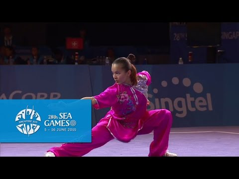 Wushu  Women's Optional Changquan Day 2  28th SEA Games Singapore 2015