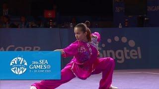 Wushu - Women's Optional Changquan (Day 2) | 28th SEA Games Singapore 2015
