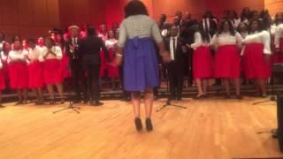 """UMGC Fall Concert 2015 """"praise break pt 1"""""""
