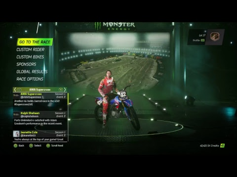 Monster Energy Supercross the game. Part 2 just messing around