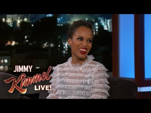 Kerry Washington on Scandal, Oprah & State of the Union