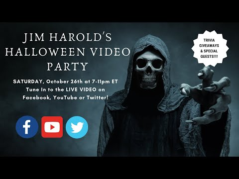 Halloween Trivia 2020 Youtube Jim Harold Halloween Video Party 2019 Replay   YouTube
