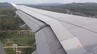เครื่องลงจอด สนามบินภูเก็ต