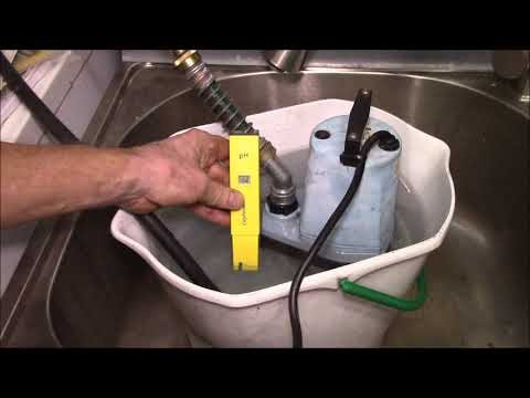 Descaling a Tankless Water Heater with Citric Acid Mix
