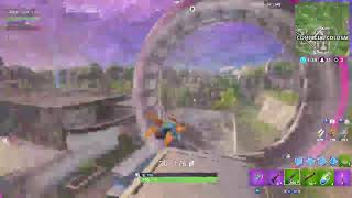 FORTNITE WITH ICONIC SKIN