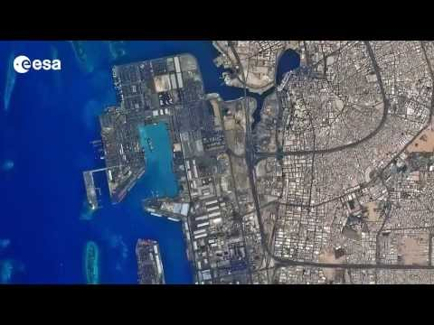 Earth from Space: Red Sea gateway at Jeddah's seaport on Saudi Arabia's western coast