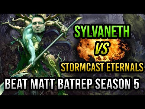 NEW Sylvaneth vs Stormcast Eternals Age of Sigmar Battle Report - Beat Matt Batrep S05E66
