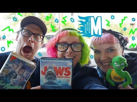 Melbourne Movie Market VLOG and Haul