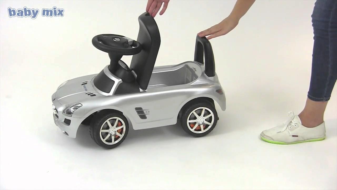 Babymix Mercedes Loopauto Mamaloes Babysjop Youtube