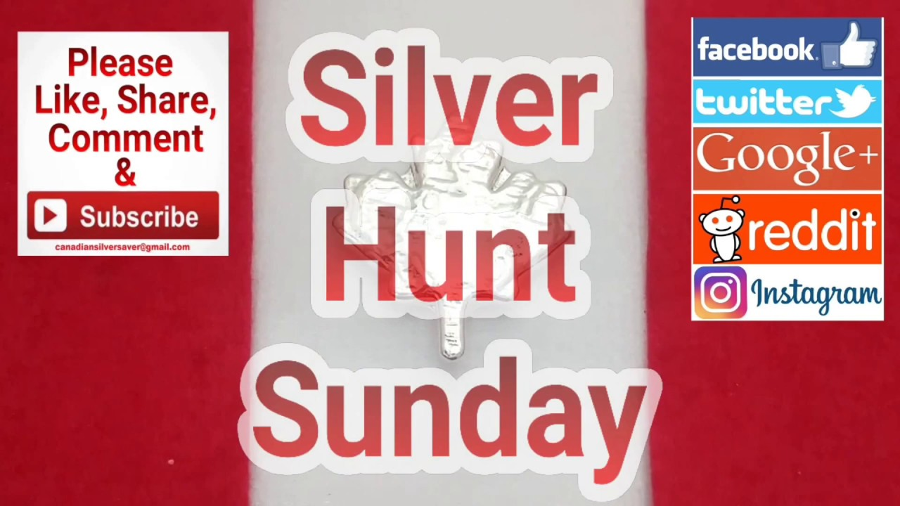 CSS Silver Hunt Sunday. The last for a while in my hunt ...