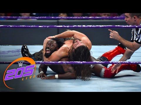 Rich Swann vs. The Brian Kendrick - WWE Cruiserweight Championship Match: WWE 205 Live, Dec. 6, 2016