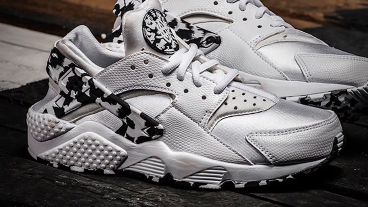 1fddb05578edb NIKE AIR HUARACHE RUN WMNS (SILVER ARCTIC CAMO) - YouTube
