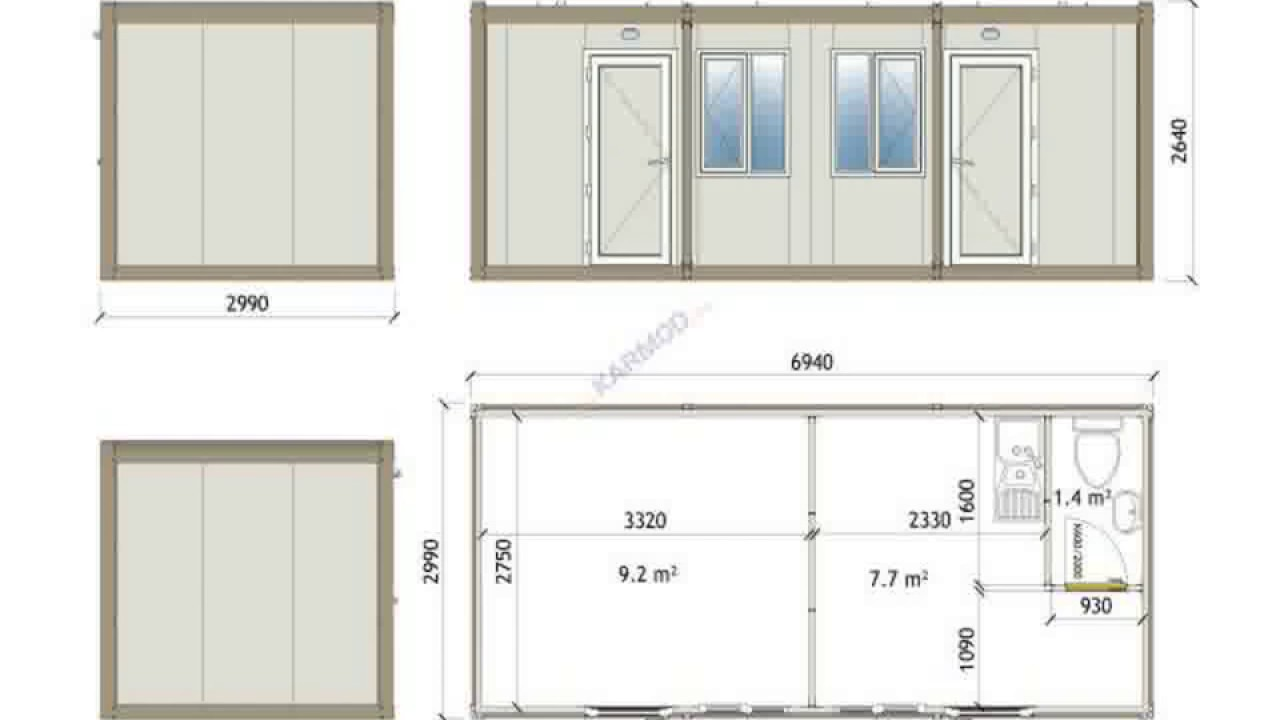 20ft Container House Designs - Amazing 20ft Shipping Container Plans ...