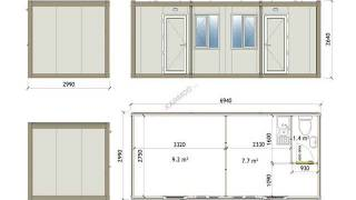 20ft Container House Designs - Amazing 20ft Shipping Container Plans