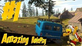 CRMP Amazing RolePlay #1 - Домик в деревне