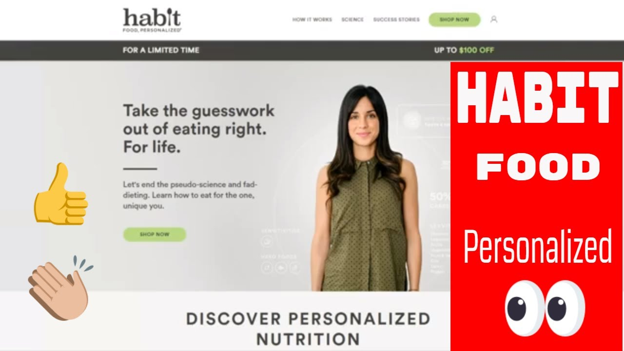 Habit Food Personalized Personal Nutrition Plan Testing For