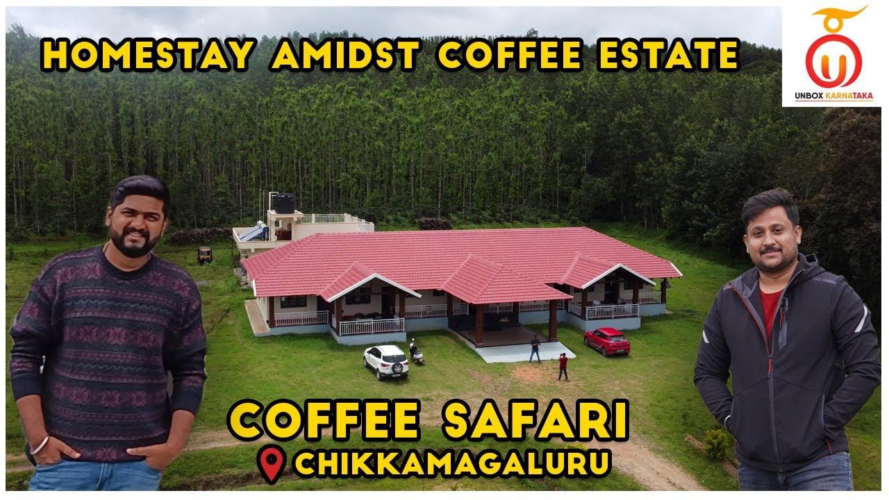 Budget Friendly Homestay in Chikmagalur | Coffee Safari Homestay | Homestay Review in Kannada