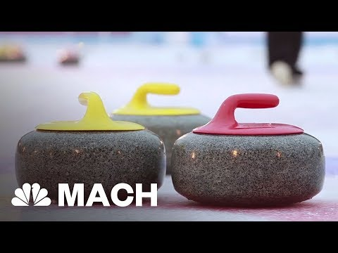 A Thrilling Display Of Chess On Ice: The Careful Control Of Friction In Curling | Mach | NBC News