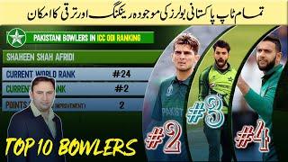 Pakistan's bowler ODI ranking before Pakistan vs Zimbabwe 2020 | ICC ODI Bowling Ranking 2020