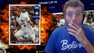 99 ALBERT PUJOLS HIT PARADE! BATTLE ROYALE | MLB THE SHOW 17 #3