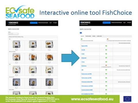 Online tool for health risk-benefit communication about seafood consumption - Eng. Fien Minnens