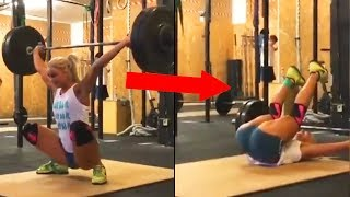 Most Dangerous Gym fails Compilation | Gym workouts gone wrong