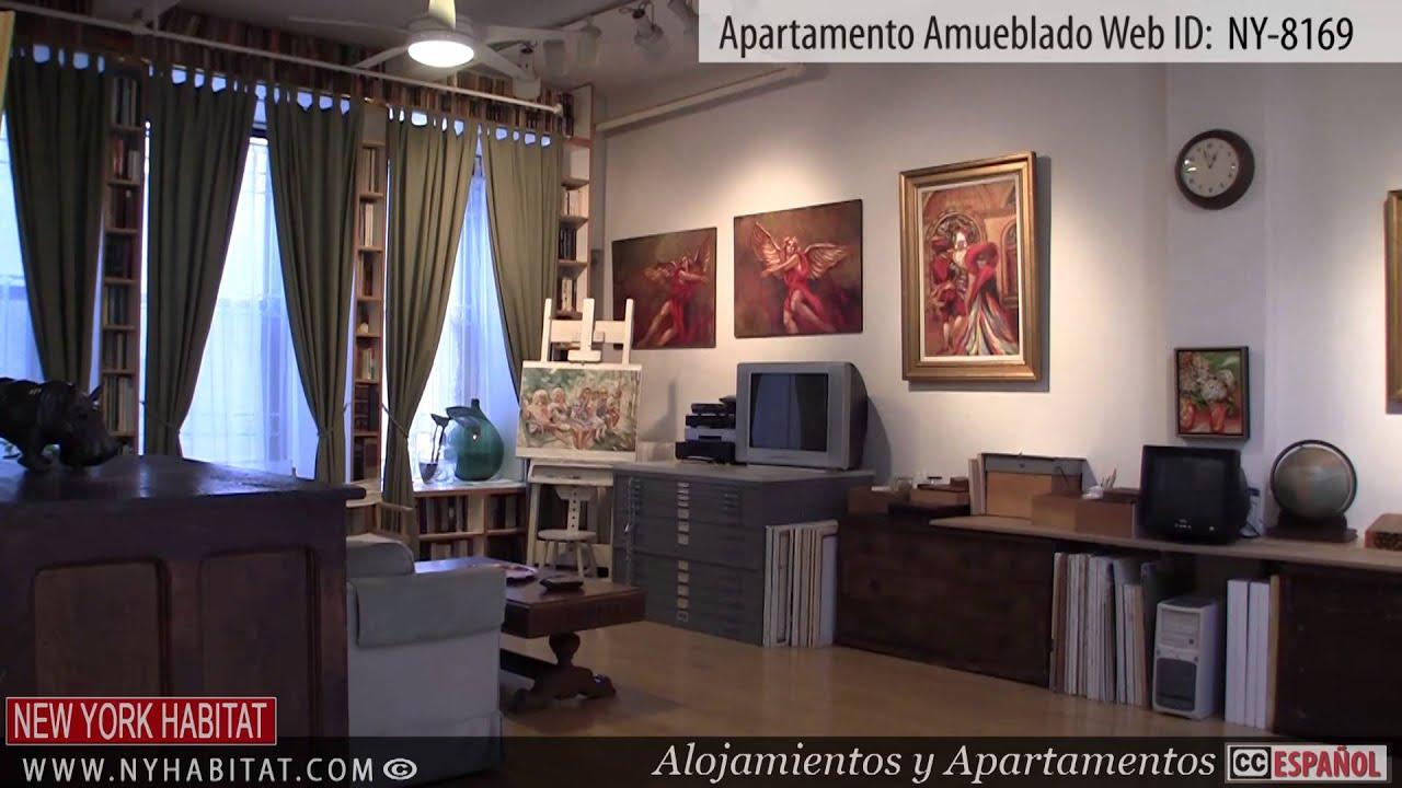 Nueva york visita virtual a un apartamento amueblado en west 27th street chelsea manhattan - Apartamentos en nueva york centro ...